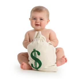 The cost of cloth diapers