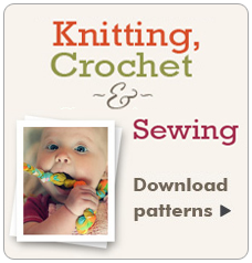 Knitting, Crotchet & Sewing