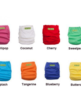 Fancypants Original Cloth Nappy Colours
