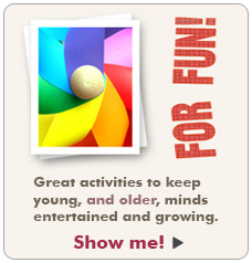 Great Activities to keep kids entertained