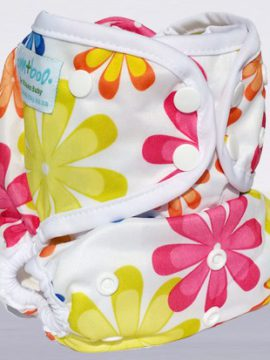 Bam+Boo All-in-One Cloth nappy Flowers Print