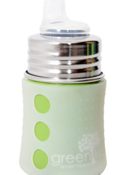 Green Kid Stainless Steel Sipper Bottle
