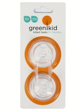 Green Kid Medium Flow Teats
